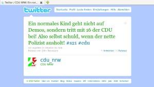 Twitter CDU NRW (Screenshot)