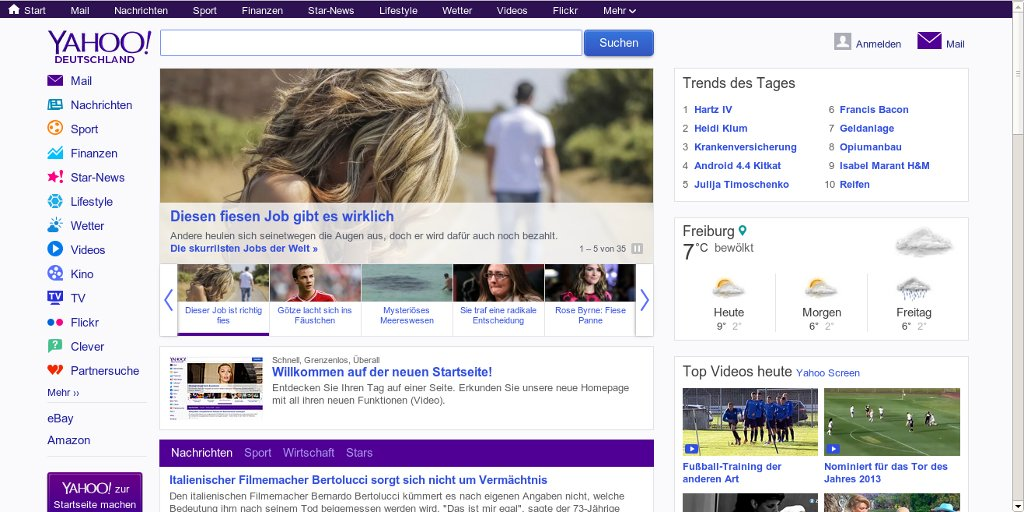 Yahoo deutschland anmelden