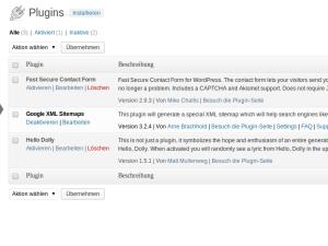 Meine Top-5-Wordpress-Plugins